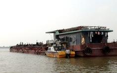 Bộ GTVT thống nhất tạm dừng nạo vét luồng trên sông Cầu