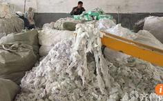 Kinh dị trong nhà máy Trung Quốc tái chế… tã xài rồi