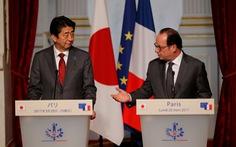 Pháp, Nhật ủng hộ tự do hàng hải ở châu Á