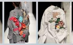 Hoa của Nguyễn Công Trí 'tỏa hương' sàn thời trang Tokyo