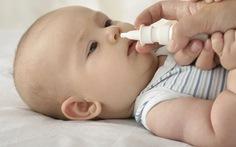 Cẩn trọng khi dùng thuốc nhỏ mũi cho trẻ