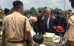 Tổng thống Israelkhen cảnh sát Việt Nam chuyên nghiệp