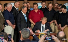 Ông Trump ký sắc lệnh mới về biến đổi khí hậu