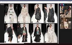Em Hoa của Nguyễn Công Trí lên tạp chí Vogue