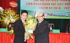 Ông Nguyễn Quốc Kỳ được bầu làm chủ tịch Liên đoàn quần vợt VN
