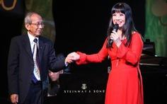 Con trai nhạc sĩ Nguyễn Ánh 9 phản ứng với ca sĩ Ánh Tuyết