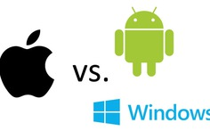 Lần đầu tiên trong lịch sử, Android vượt Windows