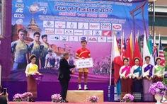 Nguyễn Thị Thật tạm giữ áo vàng, áo xanh Tour of Thailand