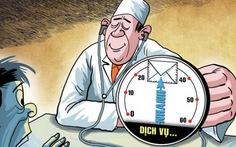 Sở Y tế yêu cầu báo cáo vụ 'trưởng khoa làm tiền bệnh nhân'