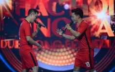 'Cha con' Hoàng Bách - Khánh Long chiến thắng ở Nhạc hội song ca