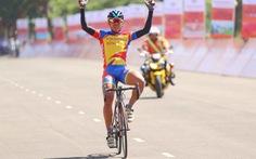 Phạm Quốc Cường chiến thắng vòng đua tại TP Pleiku