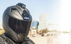 Mũ bảo hiểm thông minh giúp bạn chụp ảnh, nghe nhạc