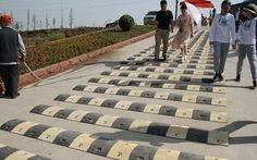 Trung Quốc gắn gờ giảm tốc để... du khách ngắm cảnh lâu hơn