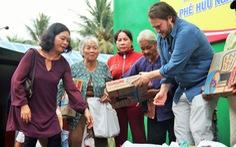 Việt kiều mở quán cơm chay từ thiện ở Bến Tre