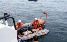 Tìm được 1 thi thể ngư dân vụ va chạm giữa tàu chở hàng với tàu cá