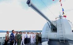 Tàu Hải quân Trung Quốc đến Cảng quốc tế TP.HCM