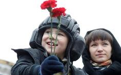 Hơn 10.000 binh sĩ Nga duyệt binh tại Quảng trường Đỏ
