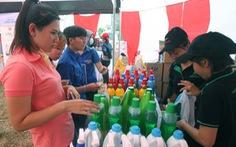 Vận động sữa miễn phí cho con công nhân