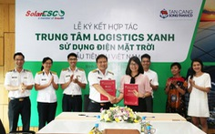 """Người tiên phong """"xanh hóa"""" trung tâm Logistics tại Việt Nam"""