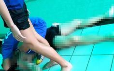 Phát hiện xác chết trong hồ bơi trường đại học