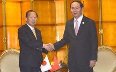 Chủ tịch nước gặp lãnh đạo Nhật, Pakistan