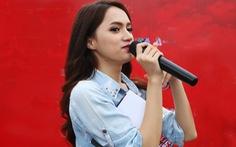 Hương Giang lấy 'danh dự, sự sống' thề với nghệ sĩ Trung Dân