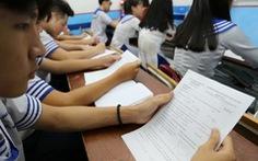 Học sinh nói đề tham khảo thi THPT có câu mới và lạ