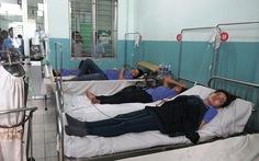 Thêm 28 công nhân công ty may nhập viện nghi ngộ độc khí