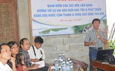 Hội An đối thoại để tìm cách giữ rừng dừa