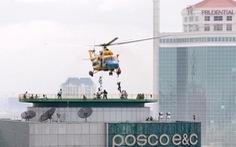TP.HCM có 10 sân đậu trực thăng trên cao ốc