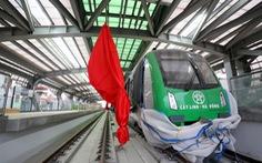 Mở cửa cho tham quan nhà ga, tàu tuyến Cát Linh - Hà Đông
