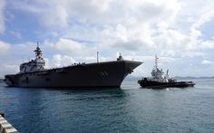 Ba tàu hải quân Mỹ và Nhật Bản đến Cam Ranh