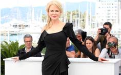 Không có Tom Cruise, Nicole Kidman phủ bóng ở Cannes