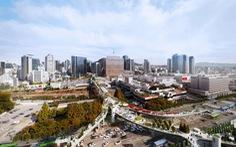 Seoul không phá đường cũ, làm 'vườn treo'