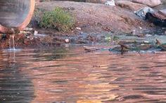 Phạt 138 triệu đồng doanh nghiệp xả thải ra sông Bến Giá