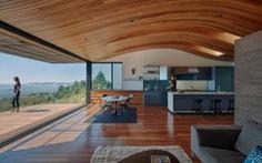 Ngôi nhà gỗ có tầm nhìn bao quát toàn thành phố