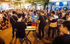 Văn hóa vùng, miền biểu diễn tại phố đi bộ hồ Hoàn Kiếm