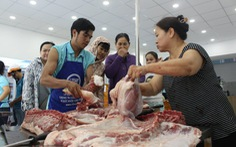 Thịt heo VietGAP đua nhau giảm giá