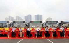 Hà Nội thêm 2 tuyến xe buýt đi vào hoạt động