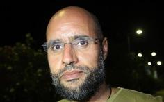 Con trai Gaddafi lặn mất tăm sau khi được trả tự do
