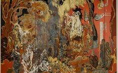 Tranh sơn mài Việt Nam được giới thiệu tại Singapore
