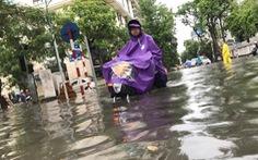 Hà Nội thêm 20 điểm đen ngập nặng sau cơn mưa lớn