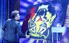 Phạm Hồng Minh sẽ trình diễn những màn vung cọ trên sân khấu