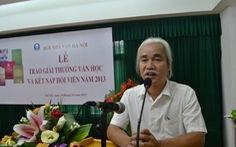 Ông Phạm Xuân Nguyên chính thức thôi chủ tịch Hội nhà văn Hà Nội
