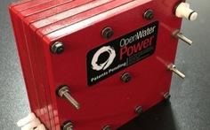 Chế được pin 'uống nước' để hoạt động dưới biển