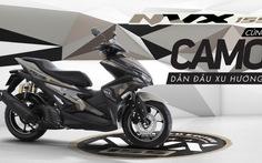 Yamahatung ra chiếc NVX 155 Camo phiên bản giới hạn