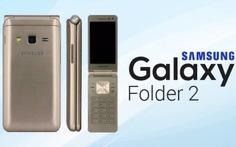 Samsung ra mắt điện thoại nắp gập cho người ưa 'hoài niệm'