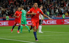 Ưu thế cho Đức và Chile