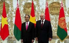 Chủ tịch nước: Việt Nam biết ơn và trân trọng tình cảm của Belarus