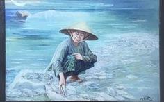 Cảnh cáo và thu giữ bức tranh Biển chết của hoạ sĩ Nguyễn Nhân